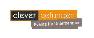"""Logo Clever-Gefunden – """"Events für Unternehmer"""""""