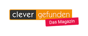 """Logo Clever-Gefunden – """"Das Magazin"""""""