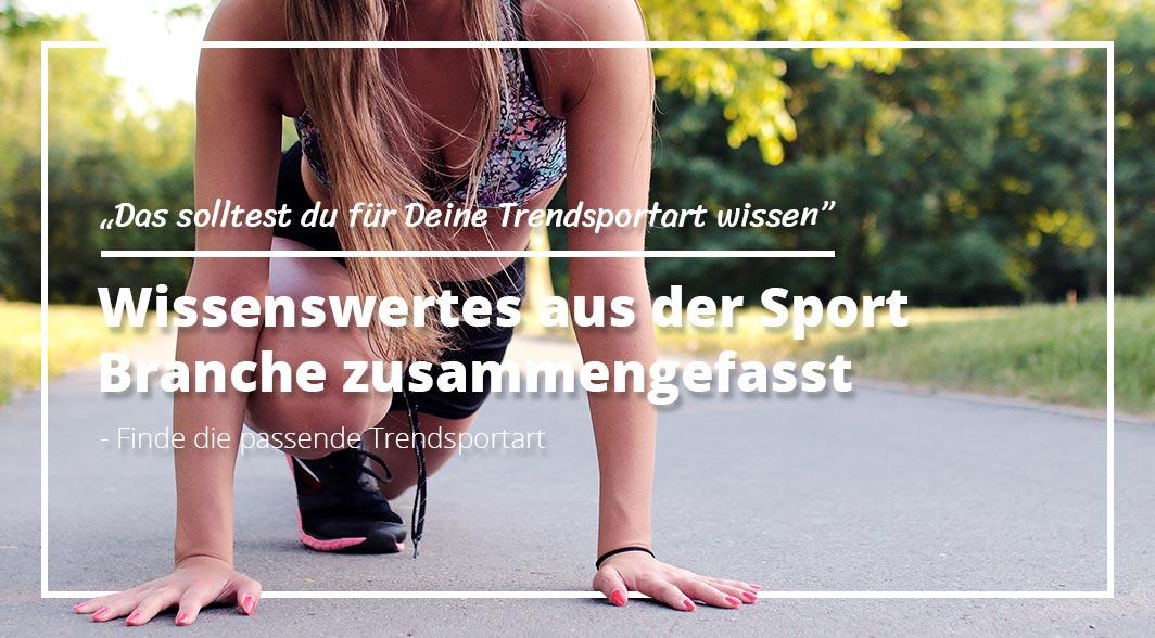 Frau draußen beim Sport